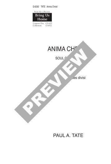 Anima Christi - GIA Publications