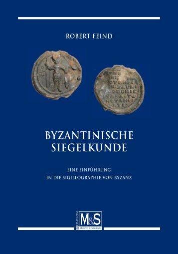 BYZANTINISCHE SIEGELKUNDE - Gietl Verlag