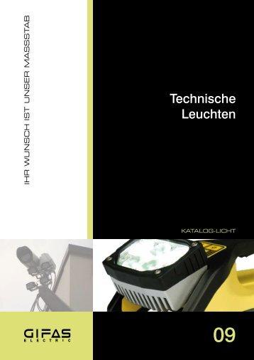 Hauptkatalog Technische Leuchten - Gifas-Electric GmbH