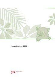 Umweltbericht 2009 - GIZ
