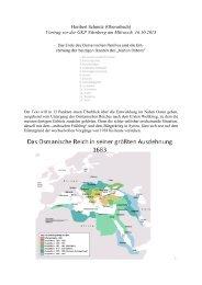 Der Untergang des osmanischen Reiches und die Entstehung der ...