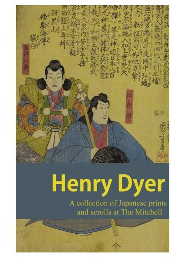 Henry Dyer: Kabuki actors and notable generals - Glasgow Life