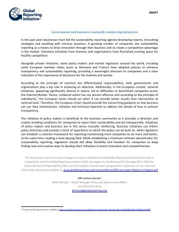 Direct download - Global Reporting Initiative