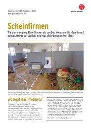 Scheinfirmen - Global Witness