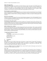 draft rules manoeuvre v4 - GMT Games