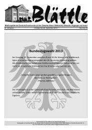 KW 38 am 20. Sept.2013 - Göggingen