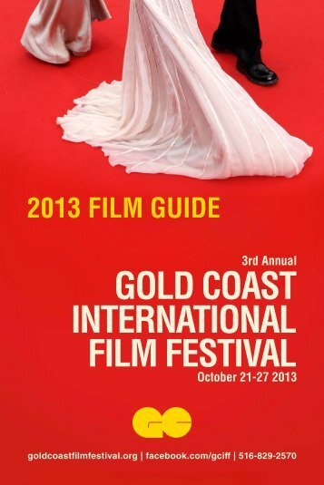 2013 Program Guide - Gold Coast International Film Festival