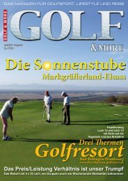 Die S nnenstube Markgrä erland-Elsass - Golf and More TV