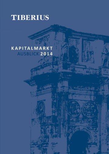 KAPITALMARKT AUSBLICK 2014 - GoldSeiten.de