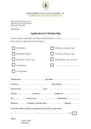 Application Form 2012 (English Language) - Berliner Golf Club ...
