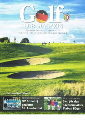 Golf Club Magazin Juni 2012 Ausgabe 04 - Golf-Club Sylt