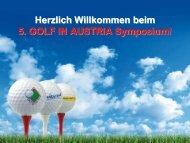 Deutschland: Profil Golfer - Golf in Austria