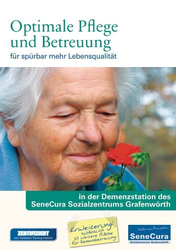Optimale Pflege und Betreuung