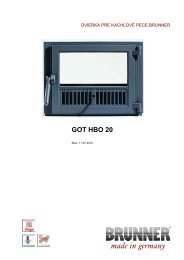 GOT HBO 20 made in germany - Brunner