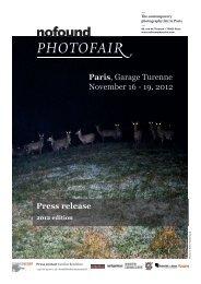 Press release Paris, Garage Turenne November 16 - 19 ... - Gomma