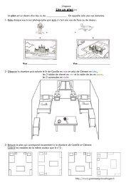 Lire un plan (1) - Gomme & Gribouillages