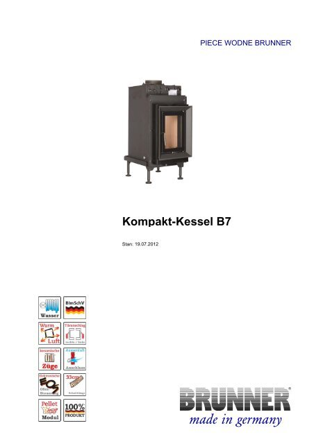 Kompakt-Kessel B7 made in germany - Brunner