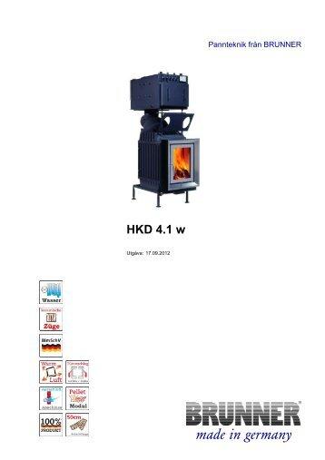 HKD 4.1 w made in germany - Brunner
