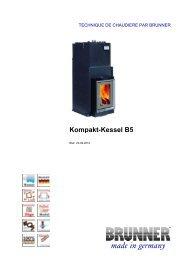 Kompakt-Kessel B5 made in germany - Brunner