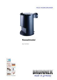 Kesselmodul made in germany - Brunner