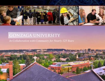 living the mission - Gonzaga University