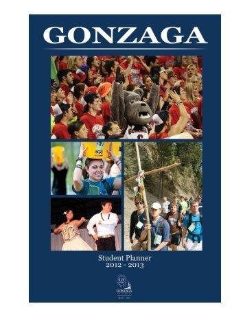 2012- 2013 - Gonzaga University