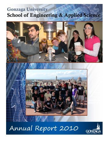 Download PDF - 2010 Annual Report.pub - Gonzaga University