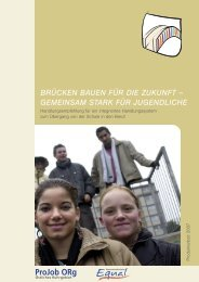 BRÜCKEN BAUEN FÜR DIE ZUKUNFT – GEMEINSAM STARK ...