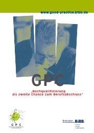 Informationsbroschüre des GPC (582 KB) - Good Practice Center