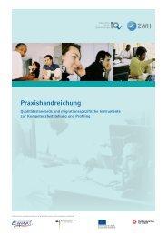 Praxishandreichung - (ESF) im Land Bremen