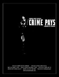 PDF preview of Crime Pays: A Godfather's ... - Goodman Games