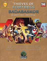 Thieves of Fortress Badabaskor - Goodman Games