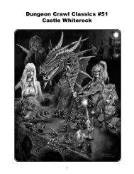 Dungeon Crawl Classics #51: Castle Whiterock - Goodman Games