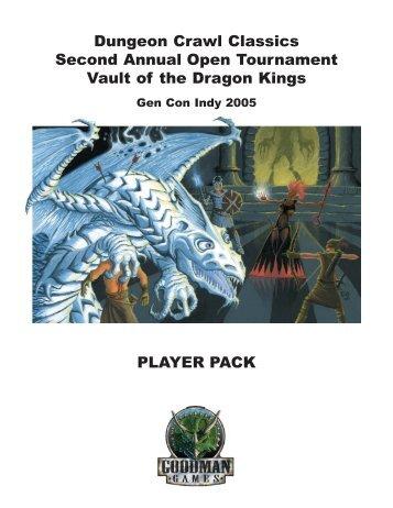 Vault of the Dragon Kings - Goodman Games