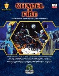 Judges Guild: Citadel of Fire - Goodman Games