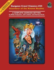 DCC #35: Gazetteer of the Known Realms - Goodman Games