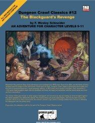 Dungeon Crawl Classics #12: The Blackguard's ... - Goodman Games