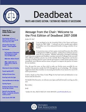 Deadbeat - Goodmans