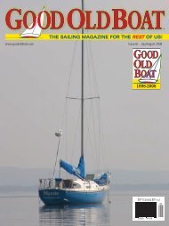 Let's launch a magazine - Good Old Boat Magazine