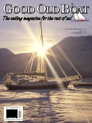 ta dream - Good Old Boat Magazine