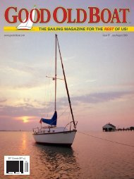 Read the whole article from the July 2009 issue. - Good Old Boat ...