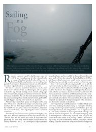 Sailing in a Fog - Good Old Boat Magazine