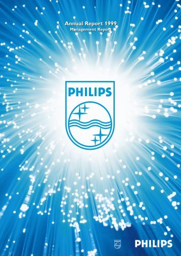 Annual Report 1999 Annual Report 1999 - Philips