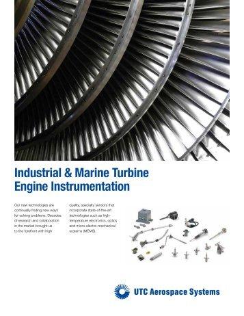 Industrial & Marine Turbine Engine Instrumentation