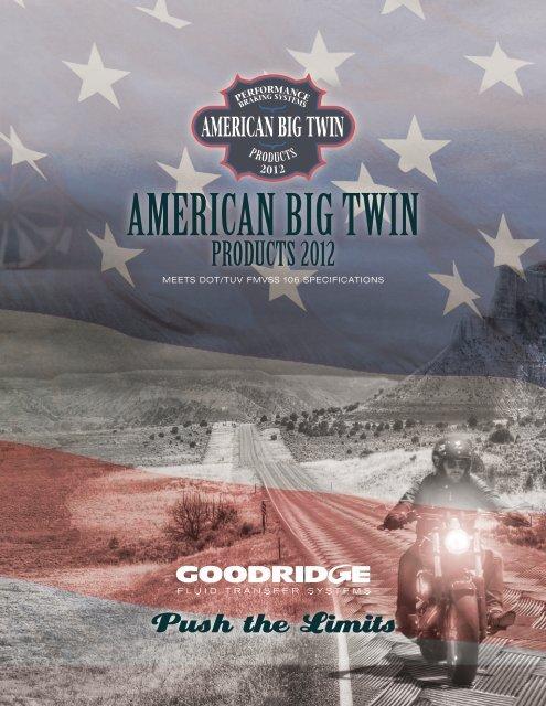 Goodridge Econoline Brake Line Kit Rear FLH//FLT 92-96