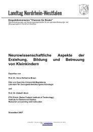 Neurowissenschaftliche Aspekte der Erziehung und ... - sozi.info