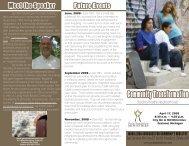Community Transformation - Good Samaritan Ministries