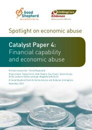 Catalyst Paper 4: Financial capability and economic abuse