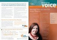 Shepherd's Voice newsletter Issue 30 December 2010