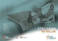 Stretching the Dollar - 2006 (PDF 634.1 KB) - Good Shepherd Youth ...